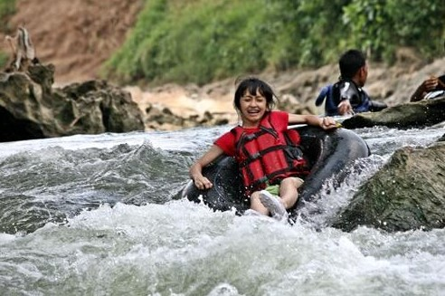 Body Rafting Sungai Oyo