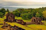 Menikmati Indahnya Panorama Senja di Istana Ratu Boko