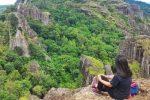Gunung Api Purba Nglanggeran: Sensasi Senja dan Bentang Kehijauan di Puncak