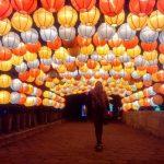 Taman Pelangi Jogja: Taburan Seribu Cahaya Lampion