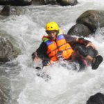 Little Ubud River Tubing, jeram sungai
