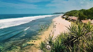 Pantai Sepanjang, Menikmati Kuta Ala Jogja