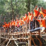 Outbound - corporate outing jogja, corporate gathering jogja, paket tour jogja, paket wisata jogja, Rumah Hobbit