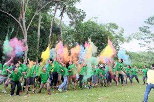 Outbound PT Rainbow Agroscience Jakarta, 16-19 Jan 2017