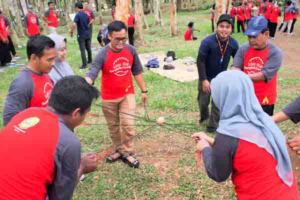 Outbound Dinas Perdagangan Bantul, 27 April 2019