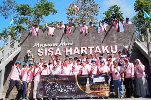 Gathering Jamkrindo Indonesia, 5-8 Juli 2018