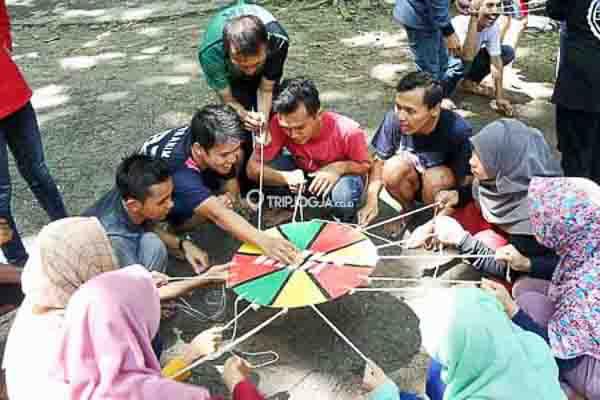 Outbound Grup Capcuss Karst Tubing Jogja, 18 Des 2016