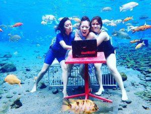 Sensasi Umbul Ponggok, Wisata Bawah Air Klaten yang Instagramable