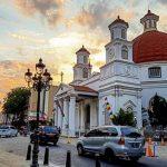 Kota Lama Semarang Yang Penuh Kenangan