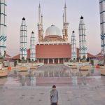 Intip Uniknya Masjid Agung Jawa Tengah Yang Punya Payung Kembaran Masjid Nabawi